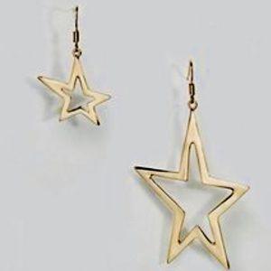 New ASOS drop star earrings
